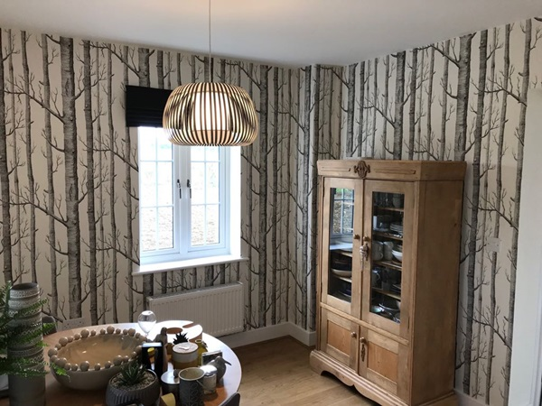 Wallpapering services in Buntingford